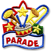 Parade Girl Scout Fun Patch