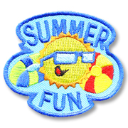 Summer Fun Girl Scout Fun Patch
