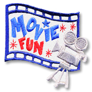 Movie Fun Girl Scout Fun Patch