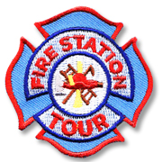Fire Station Tour Girl Scout Fun Patch