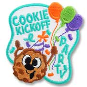 Cookie Kick-Off Girl Scout Fun Patch