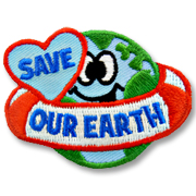 Save Our Earth Girl Scout Fun Patch