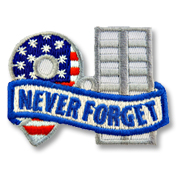 Never Forget Girl Scout Fun Patch