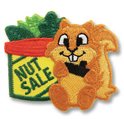 Nut Sale Girl Scout Fun Patch