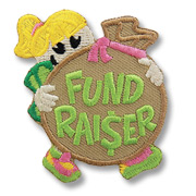 Fundraiser Girl Scout Fun Patch