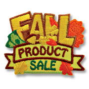 Fall Product Sale Girl Scout Fun Patch