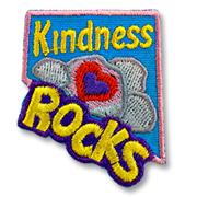 Kindness Rocks Girl Scout Fun Patch