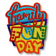 Family Fun Day Girl Scout Fun Patch