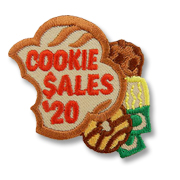 Cookie Sales '20 Girl Scout Fun Patch
