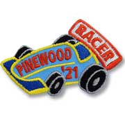 Pinewood Racer '21 Girl Scout Fun Patch