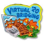 Virtual Bridging '20 Girl Scout Fun Patch