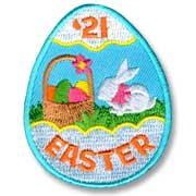 Easter '21 Girl Scout Fun Patch