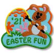 Easter Fun Girl Scout Fun Patch