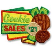 Cookie Sales '21 Girl Scout Fun Patch