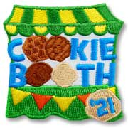 Cookie Booth Girl Scout Fun Patch