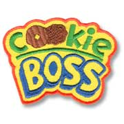Cookie Boss Girl Scout Fun Patch