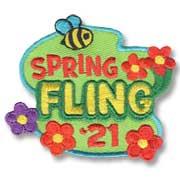 Spring Fling '21 Girl Scout Fun Patch