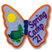 Spring Camp '21 Girl Scout Fun Patch