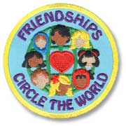 Friendships Girl Scout Fun Patch
