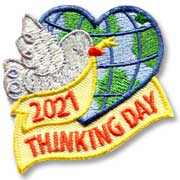 2021 Thinking Day Girl Scout Fun Patch