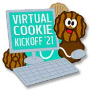 Virtual Cookie Kickoff Girl Scout Fun Patch