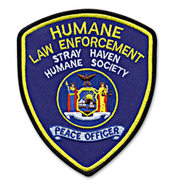 Custom Patch for Humane Society Law Enforcement