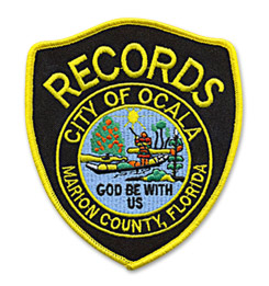 Custom Patch for Dept. of Records