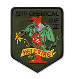 Custom Patch for Military Unit