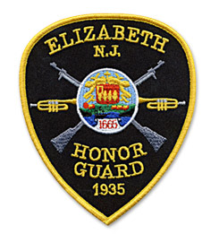 Custom Patch for Honor Guard Unit