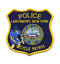 Custom Patch for Police Dept. Bicycle Patrol