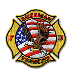 Custom Patch for Fire Dept.