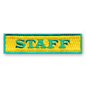 Staff Bar Tab w/ Sticky Backing