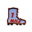 1 Mile Boot Fun Patch