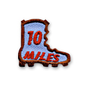 10 Miles Boot Fun Patch