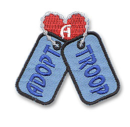 Adopt a Troop (Dog Tags)