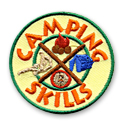 Camping Skills Fun Patch