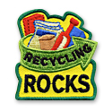 Recycling Rocks Fun Patch