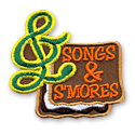Songs & S'Mores Fun Patch