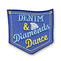 Denim & Diamonds Fun Patch