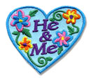He & Me Fun Patch