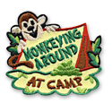 Monkeying Around At Camp Fun Patch