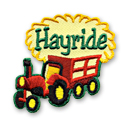 Hayride Fun Patch
