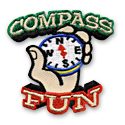 Compass Fun Patch