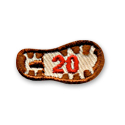 20 Miles - Boot Print Fun Patch
