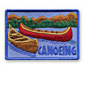 Canoeing Fun Patch