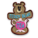 Teddy Bear Tea Fun Patch