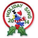 Holiday Sing 2014 Fun Patch