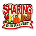 Sharing Our Harvest Fun Patch