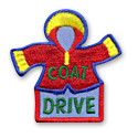 Coat Drive Fun Patch