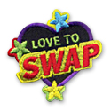 Love to Swap Fun Patch